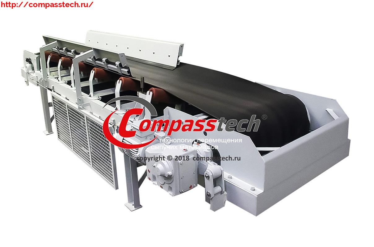 Ленточный весовой конвейер легкий гусеничный транспортер